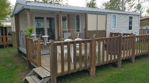 Mobile home Onzain N°91 - 4 people - holiday home  #57077