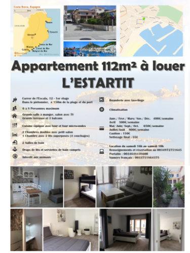 Appartement L Estartit - 8 personnes - location vacances  n°57222