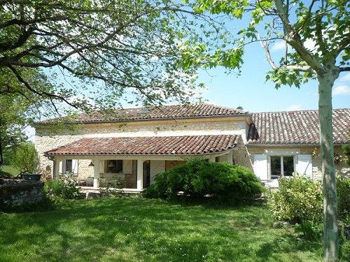 Maison Monflanquin - 7 personnes - location vacances  n°57248