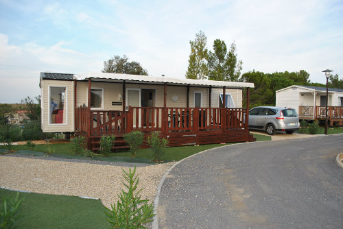 Mobil-home Valras-plage - 6 personnes - location vacances  n°57311