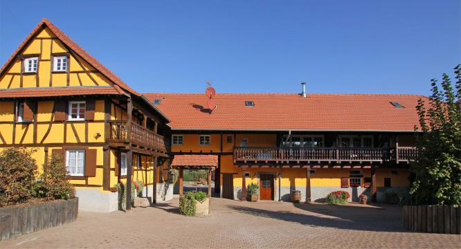 Ferme 4 personnes Strasbourg Nord - location vacances  n°57429