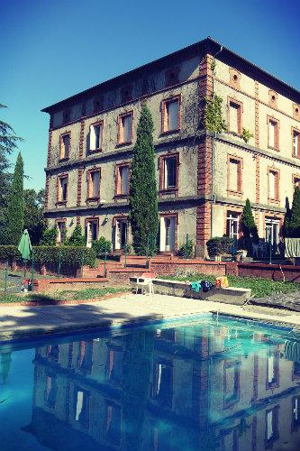 Château Carmaux - 85 personnes - location vacances  n°57510