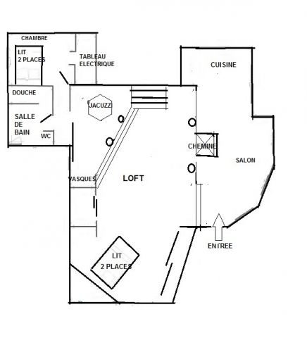 maison aubagne louer pour 4 personnes location n 57855. Black Bedroom Furniture Sets. Home Design Ideas