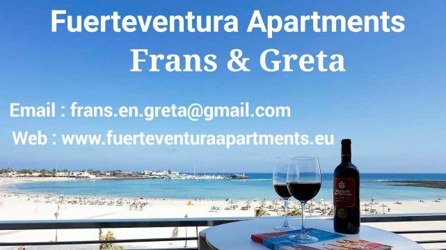 Appartement Fuerteventura - 4 personnes - location vacances  n°57901