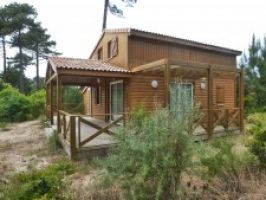 Chalet Montalivet Les Bains - 6 people - holiday home  #57804