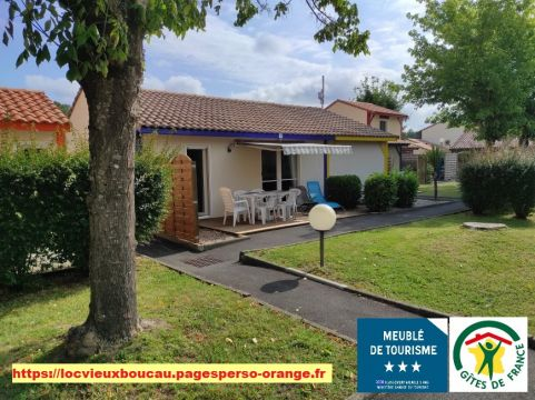 House in Souston plage for rent for  6 people - rental ad #58189