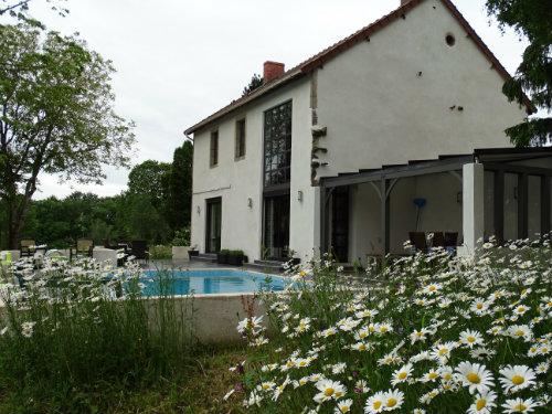 Haus Montaigut En Combraille - 6 Personen - Ferienwohnung N°58222