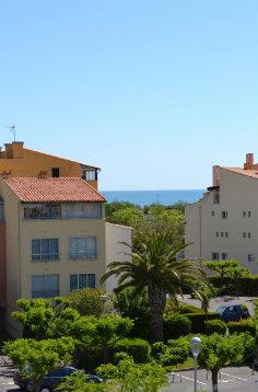 Cap d agde -    uitzicht op zee