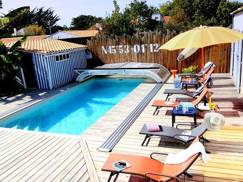 House Le Chateau D'oleron  - 10 people - holiday home  #58284