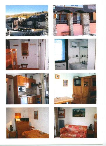 Studio Risoul 1850  - location vacances  n°58371