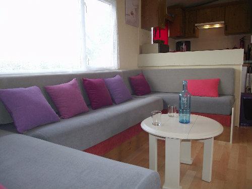 Mobil-home Lattes - 8 personnes - location vacances  n°58552