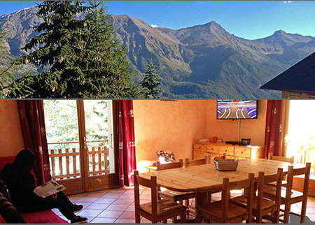 Chalet Orcières Merlette - 10 people - holiday home  #58601