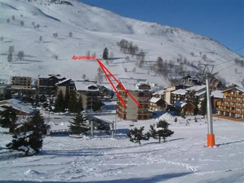 Flat in Les deux alpes - Vacation, holiday rental ad # 58605 Picture #3