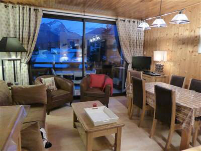 Flat in Les deux alpes for   8 •   with balcony