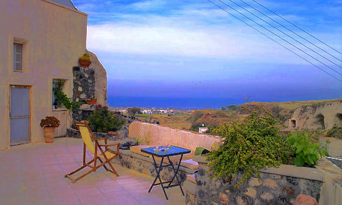 House Santorini - 4 people - holiday home  #58664