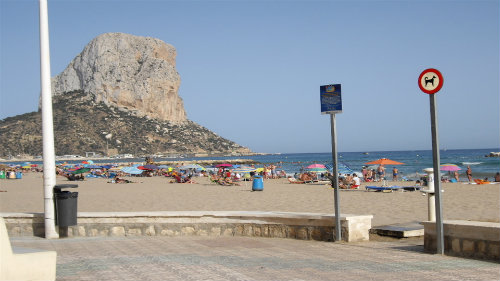 Flat in Calpe - Vacation, holiday rental ad # 58726 Picture #3