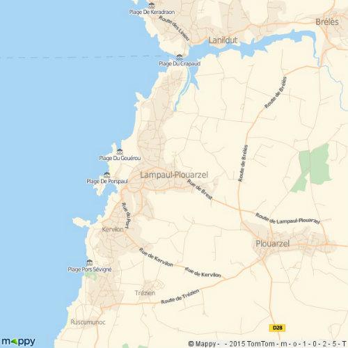 Maison Lampaul Plouarzel - 6 personnes - location vacances  n°58747