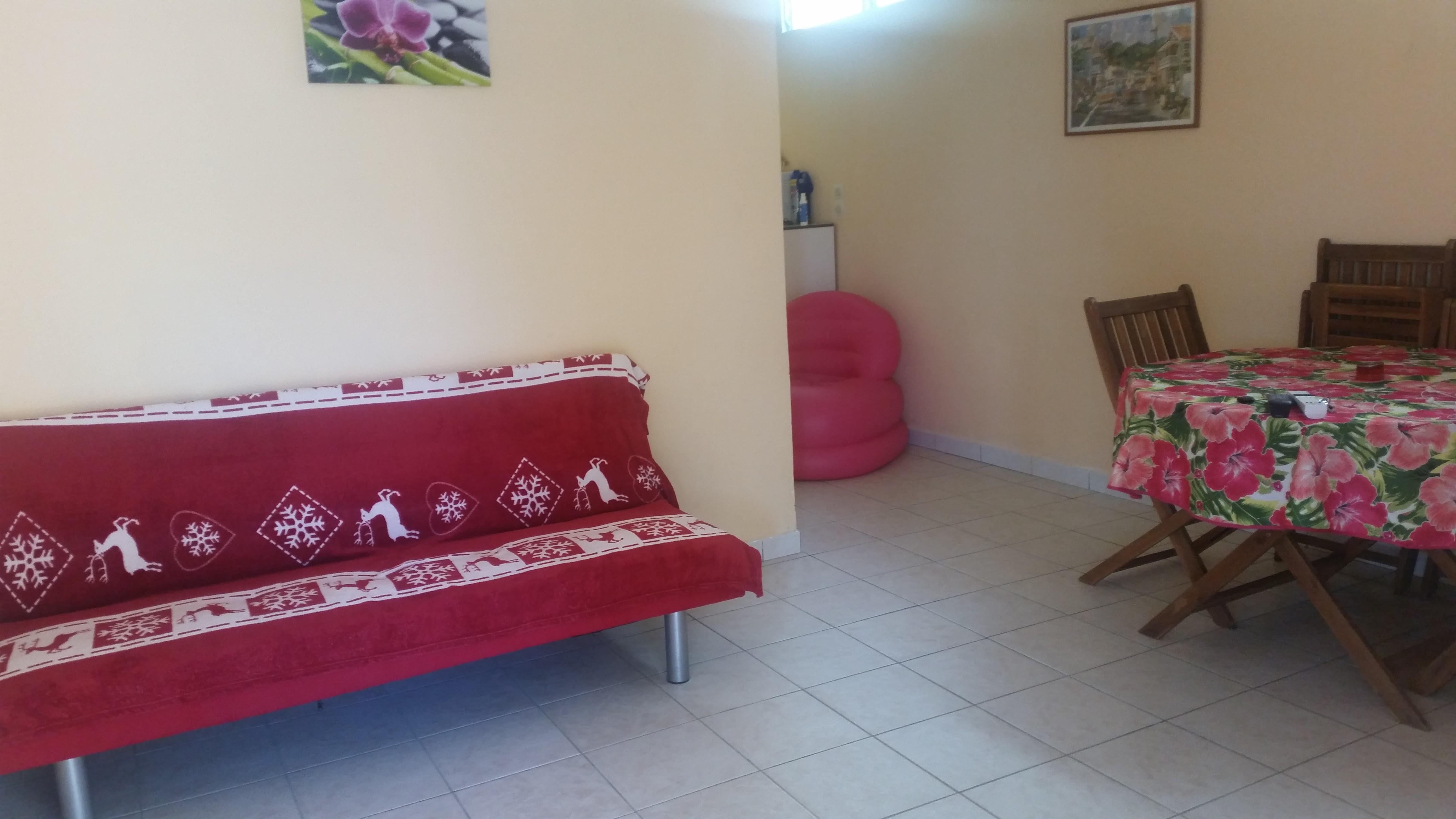 Maison Le Vauclin - 3 personnes - location vacances  n°58910