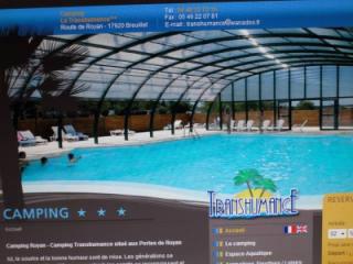 Breuillet -    met zwembad in complex
