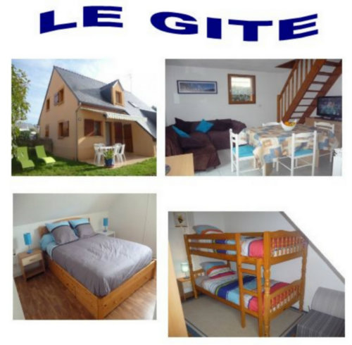 Gite Guidel Plage - 4 people - holiday home  #59018