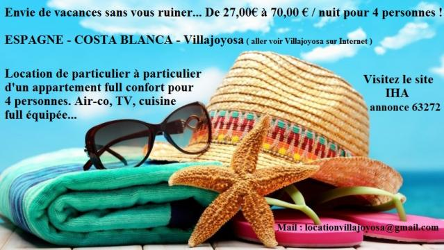 Appartement Villajoyosa - La Vila Joiosa - 4 personen - Vakantiewoning