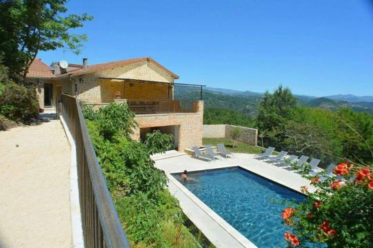 House Prades - 12 people - holiday home  #59404