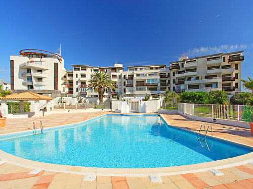Flat Cap D Agde - 5 people - holiday home  #59523