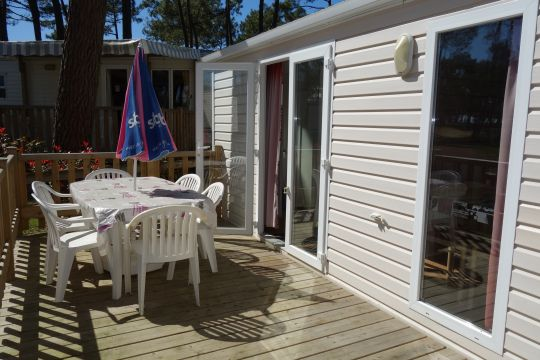 Mobile home in La Palmyre - Vacation, holiday rental ad # 59572 Picture #3