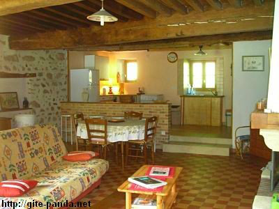 Gite 3 personnes Alligny En Morvan - location vacances  n°59647