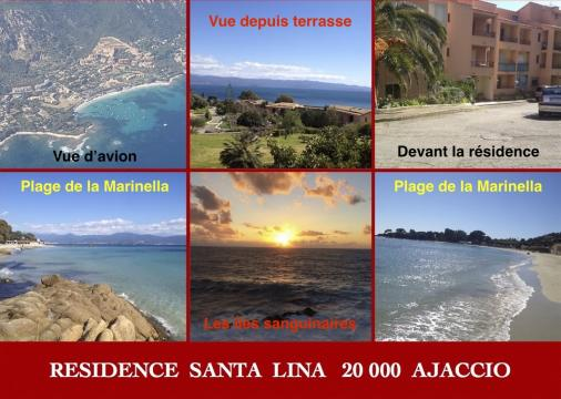 2 people Ajaccio - holiday home  #59900