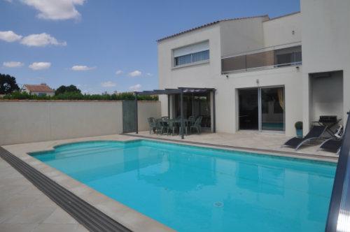 Maison Saint Vincent Sur Jard - 10 personnes - location vacances  n°59986
