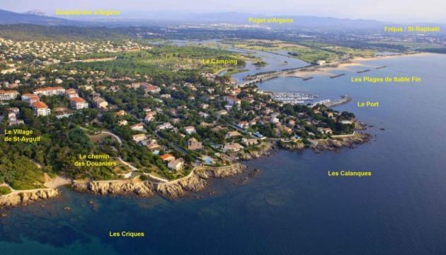 Gite Saint Aygulf - 6 personnes - location vacances  n°59997