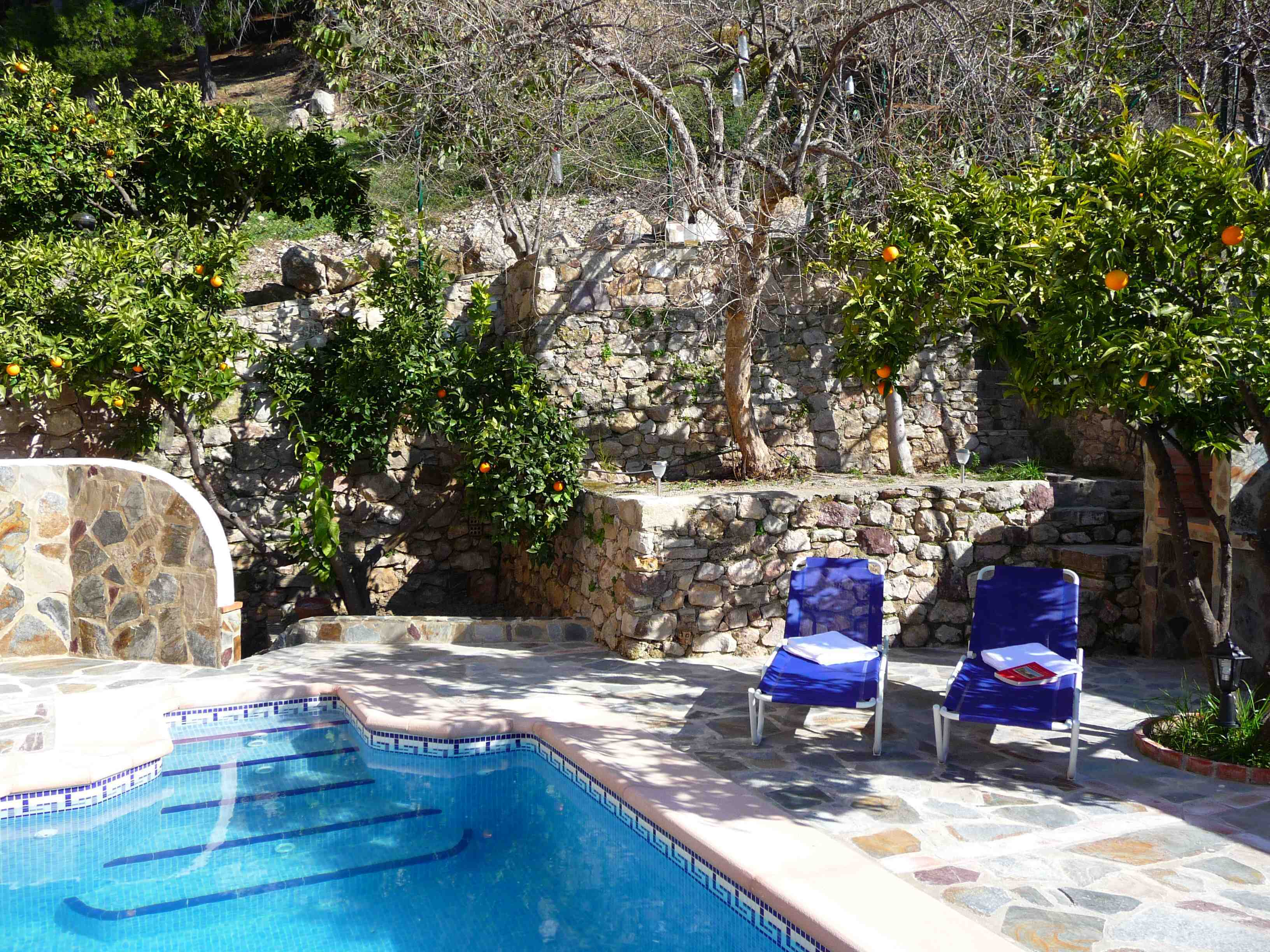in Montecorto for   4 •   with private pool