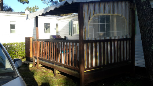 Mobile home in St jean de monts for   4 •   with shared pool