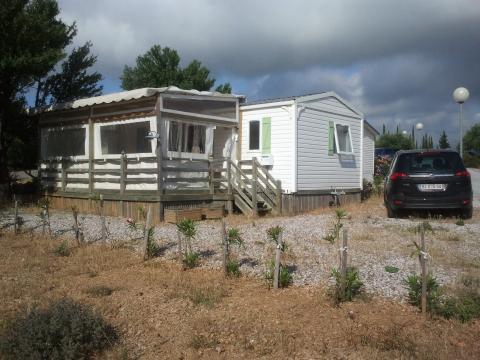 Bungalow Leucate - 6 personnes - location vacances  n°60053