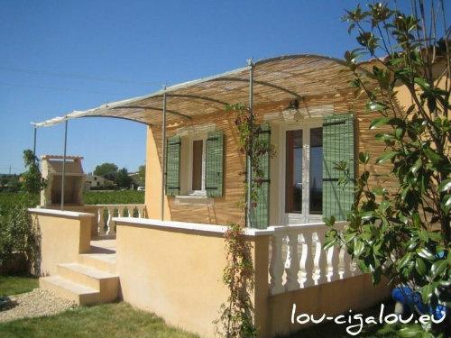 Maison Saint-saturnin-les-apt - 6 personnes - location vacances  n°60107