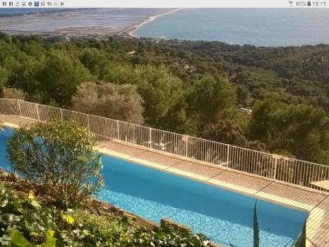 Hyères -    Aussicht aufs Meer