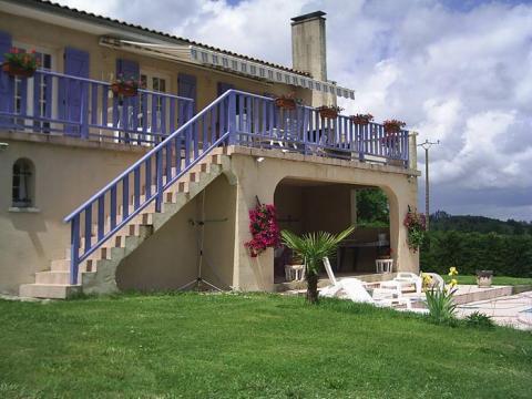 Maison La Chapelle Grésignac - 10 personnes - location vacances  n°60209