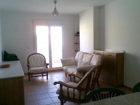Apartamento en Garrucha para  4 •   con terraza  n°60261