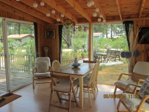 Chalet in Montalivet - Vacation, holiday rental ad # 60378 Picture #2