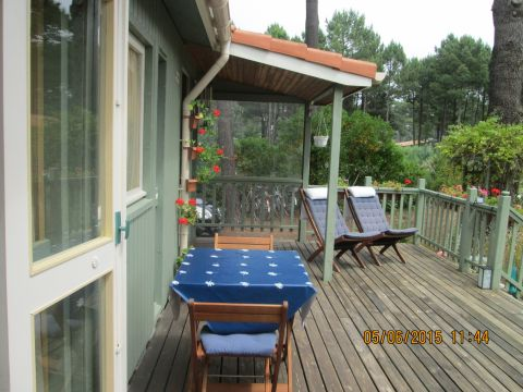 Chalet in Montalivet - Vacation, holiday rental ad # 60378 Picture #3