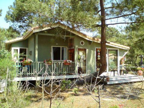 Chalet Montalivet - 5 personnes - location vacances  n°60378