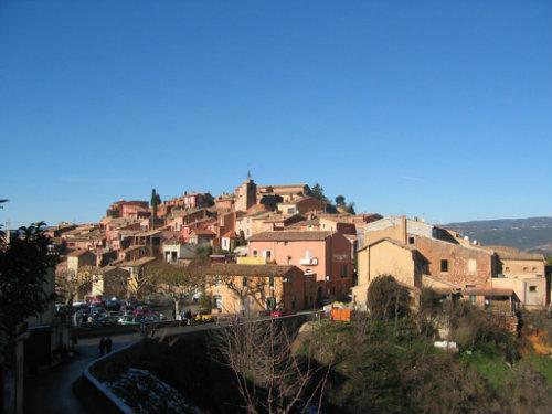 Gite à Roussillon pour  2 •   avec terrasse
