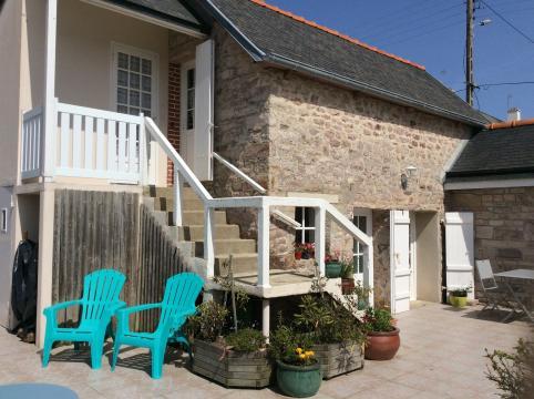 Haus in Erquy für  2 •   mit Terrasse  N°60514