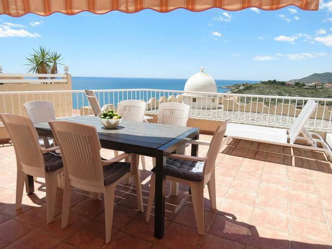 Appartement à Peñíscola pour  6 •   vue sur mer