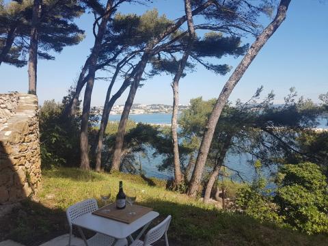 Martigues -    uitzicht op meer
