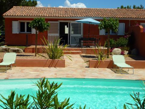 Maison Porto-vecchio - 7 personnes - location vacances  n°60740