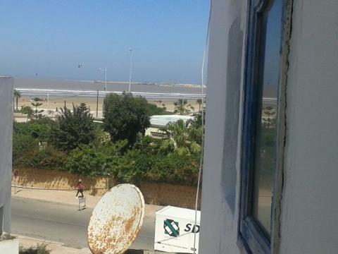 Essaouira -    Aussicht aufs Meer
