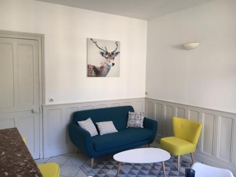 Maison à Langrune sur mer pour  4 •   2 chambres   n°60801
