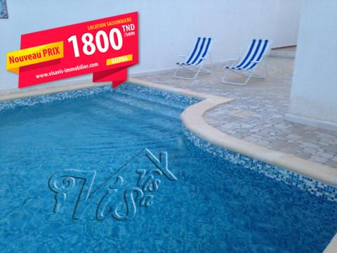 Maison Djerba - 6 personnes - location vacances  n°60882